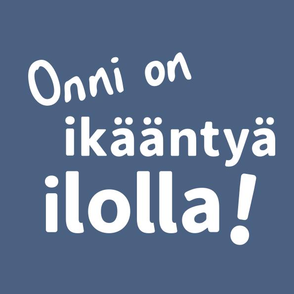 Ikaanny_ilolla_pystylogo_sininentausta_RGB